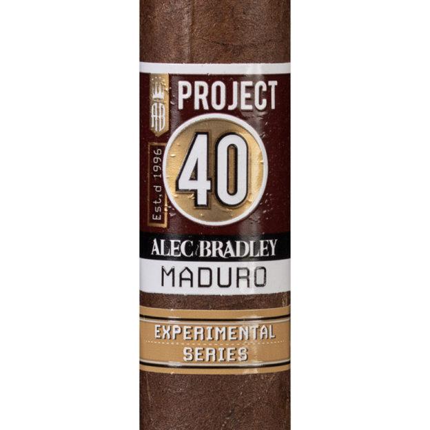 Alec Bradley Project 40 Maduro cigar