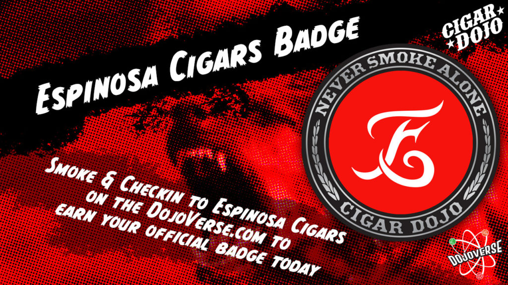 Espinosa Cigars Badge promo