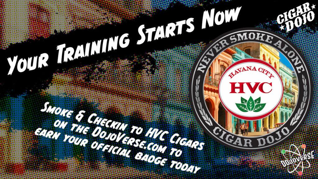 HVC Cigars Badge promo