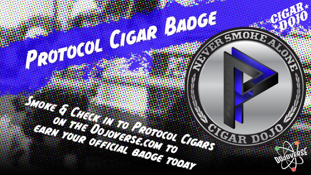 Protocol Cigars Badge promo