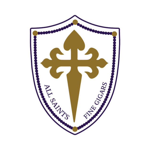 All Saints Cigars logo