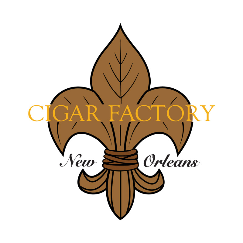 Cigar Factory New Orleans logo