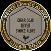 Cigar Dojo Ybor City Stone badge