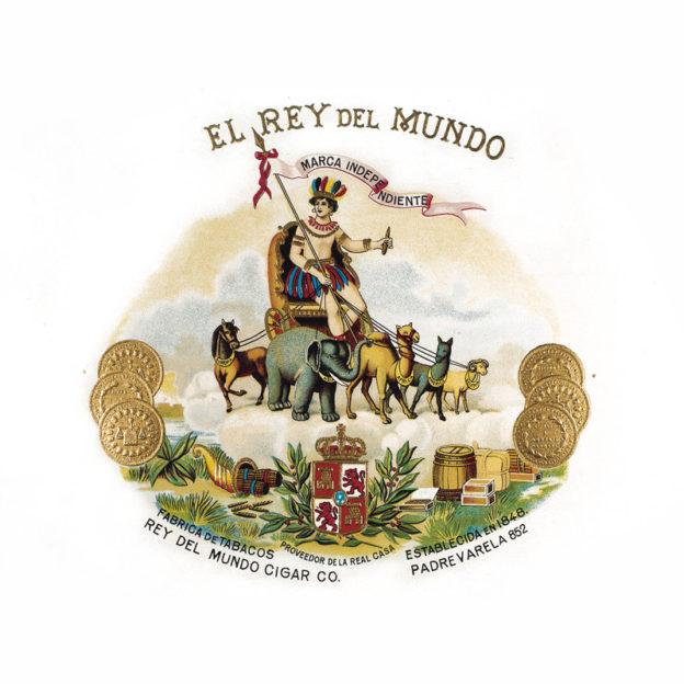El Rey del Mundo Cuban cigar logo