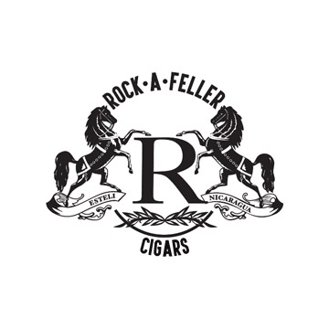 Vintage Rock-A-Feller Cigars logo