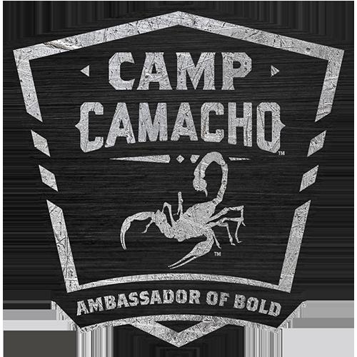Camp Camacho Ambassador of Bold shield