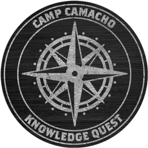 Camp Camacho Knowledge Quest badge