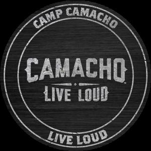 Camp Camacho Live Loud badge