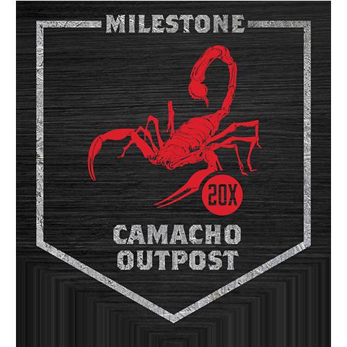 Camp Camacho 20x Camacho Outpost milestone