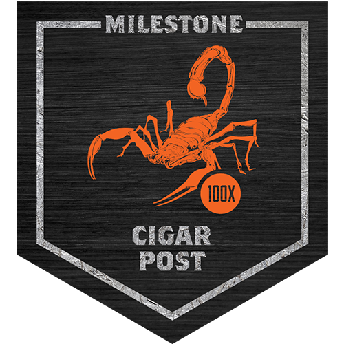 Camp Camacho 100x Cigar Post milestone