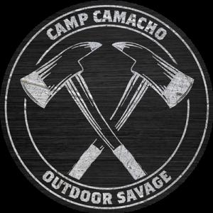 Camp Camacho Outdoor Savage badge