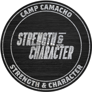 Camp Camacho Strength and Character badge