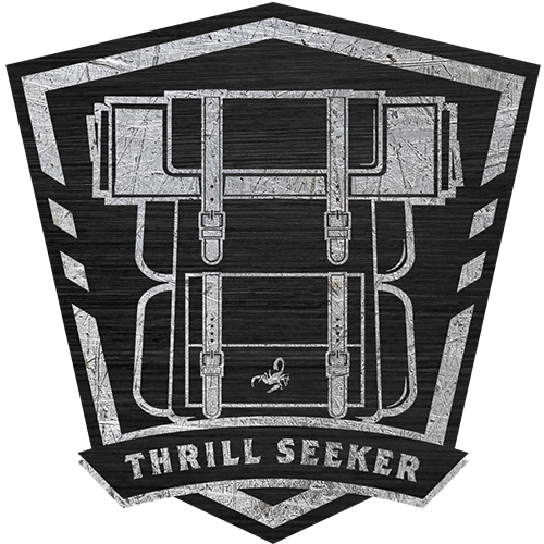 Camp Camacho Thrill Seeker shield