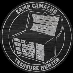 Camp Camacho Treasure Hunter badge