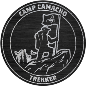 Camp Camacho Trekker badge
