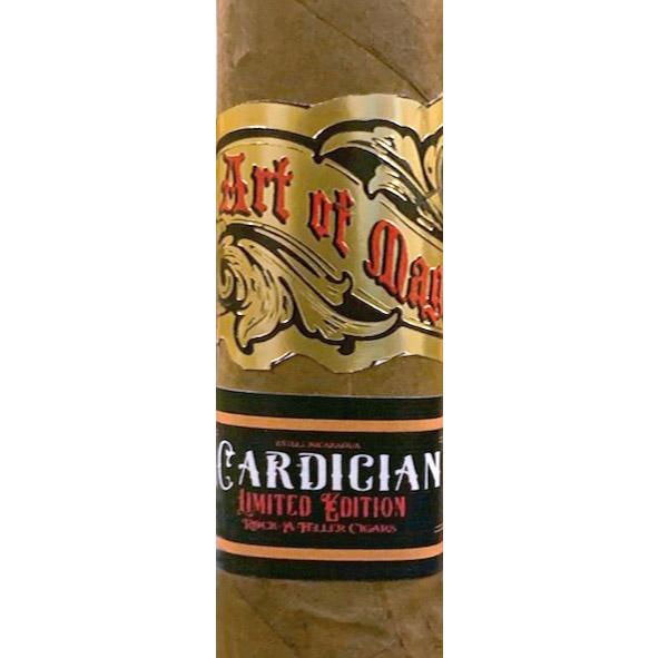 Vintage Rock-A-Feller Art of Magic Cardician cigar